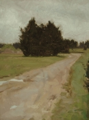 "<h5>Dirt Road</h5><p>Oil  |  16"" x 12""</p>"