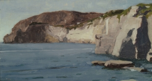 "<h5>Ischian Coast</h5><p>Oil  |  10"" x 18""</p>"