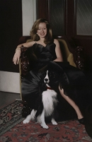 """<h5>Adrienne and Button</h5><p>Oil  
